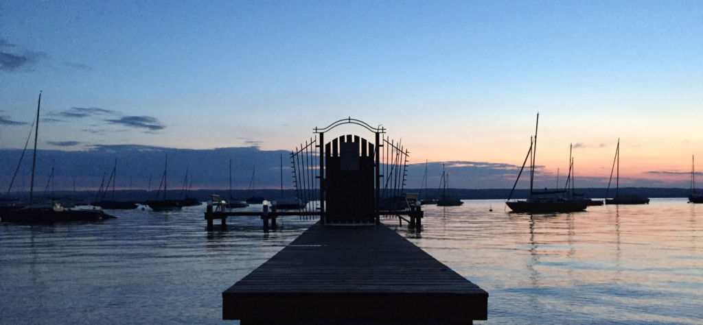 Ammersee Abendstimmung | MAEHA Life Coaching |OMEGA Health Coaching - OMEGA Healing in München